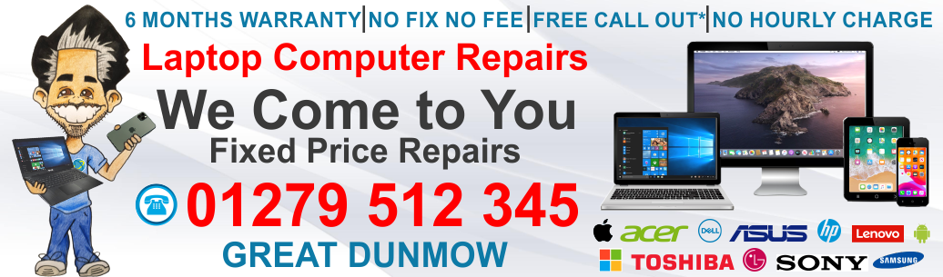 Laptop Computer Repair Great Dunmow