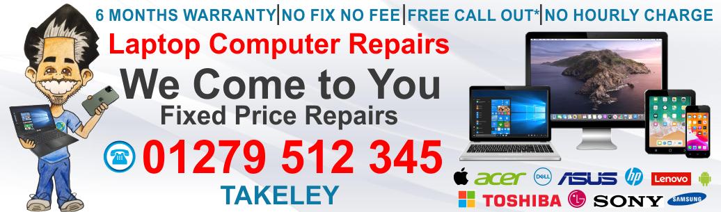 Laptop Computer Repair Takeley